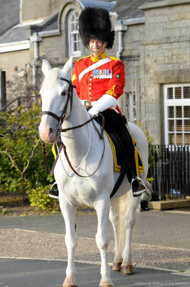 Mounted Royal Scots Dragoon Guard