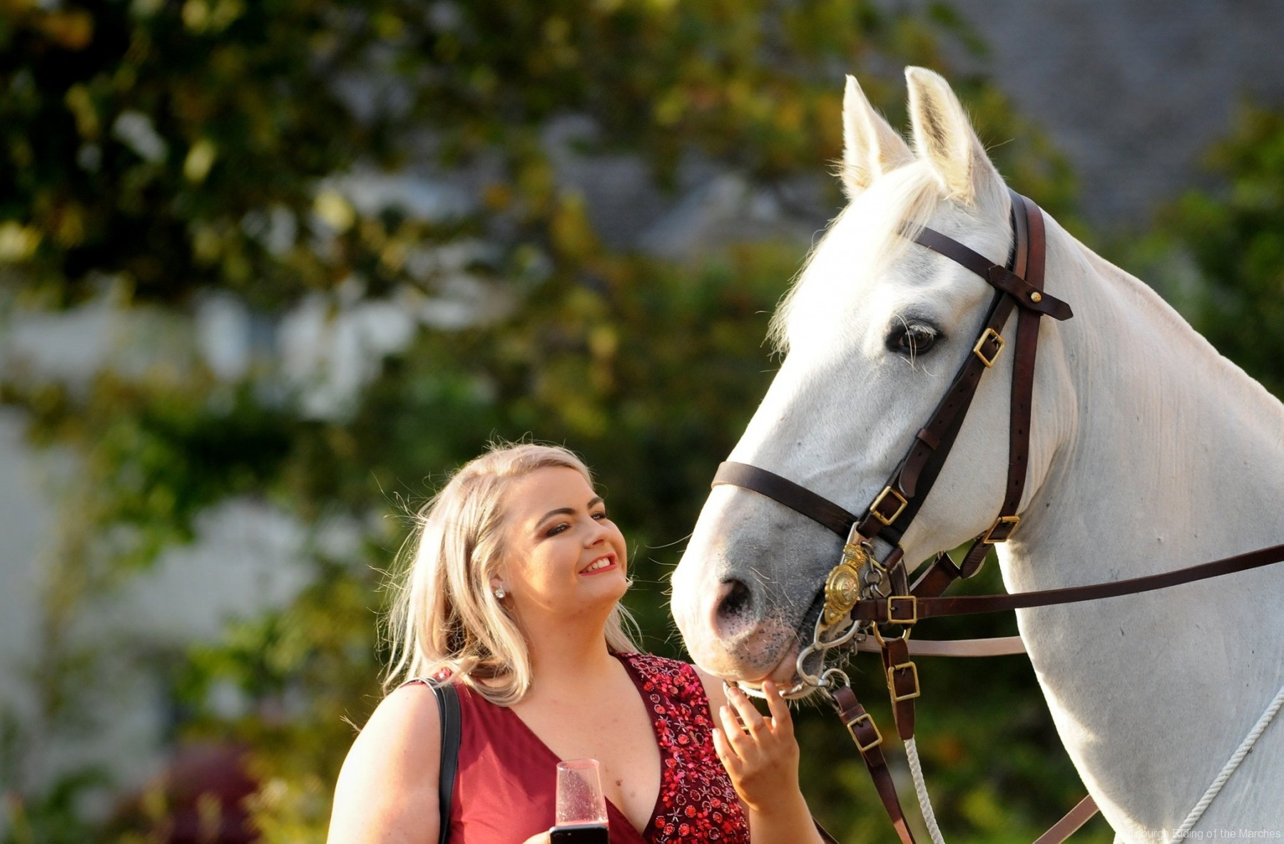 2018 Edinburgh Lass with horse