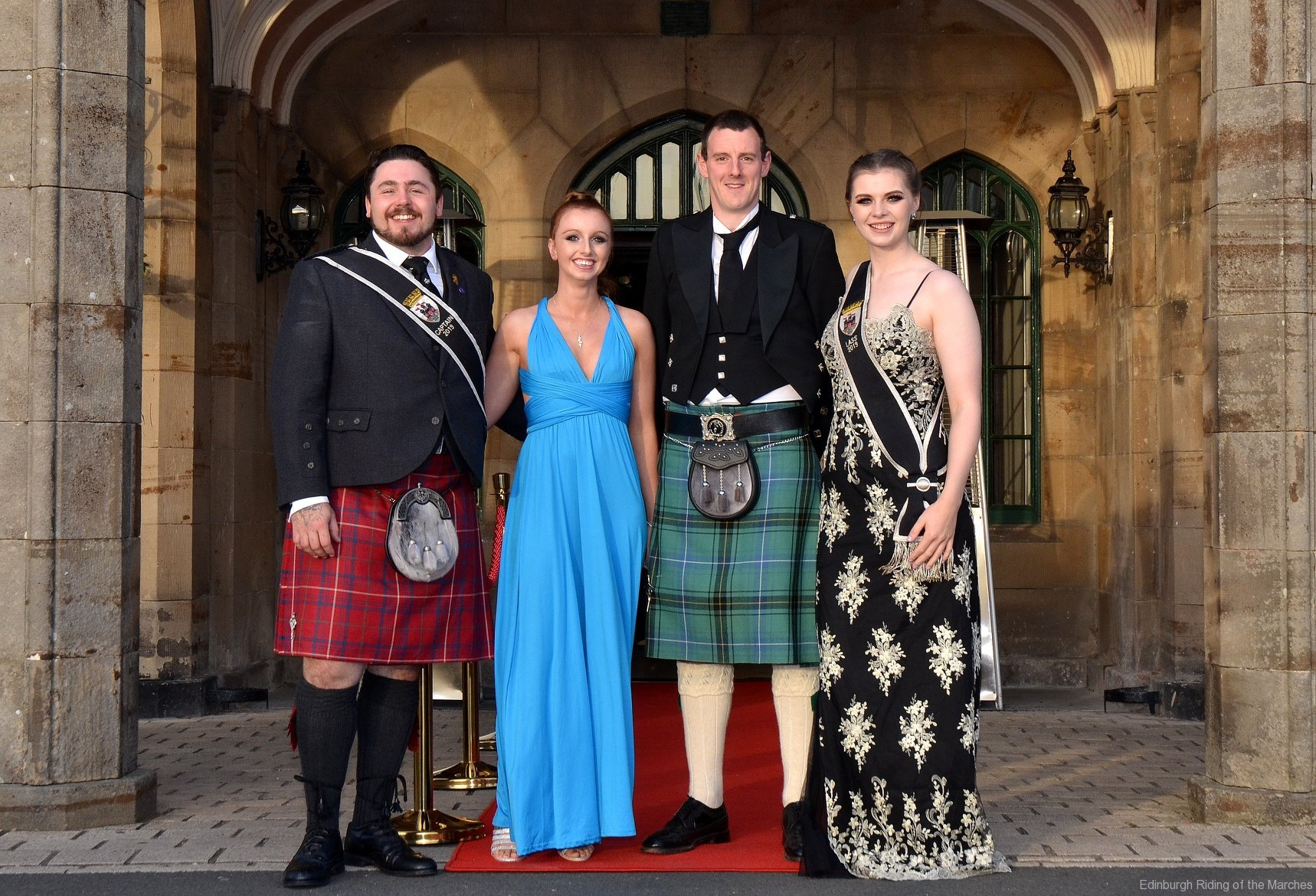 2019 Edinburgh Captain and Lass with guests