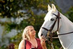 2018 Edinburgh Lass with horse