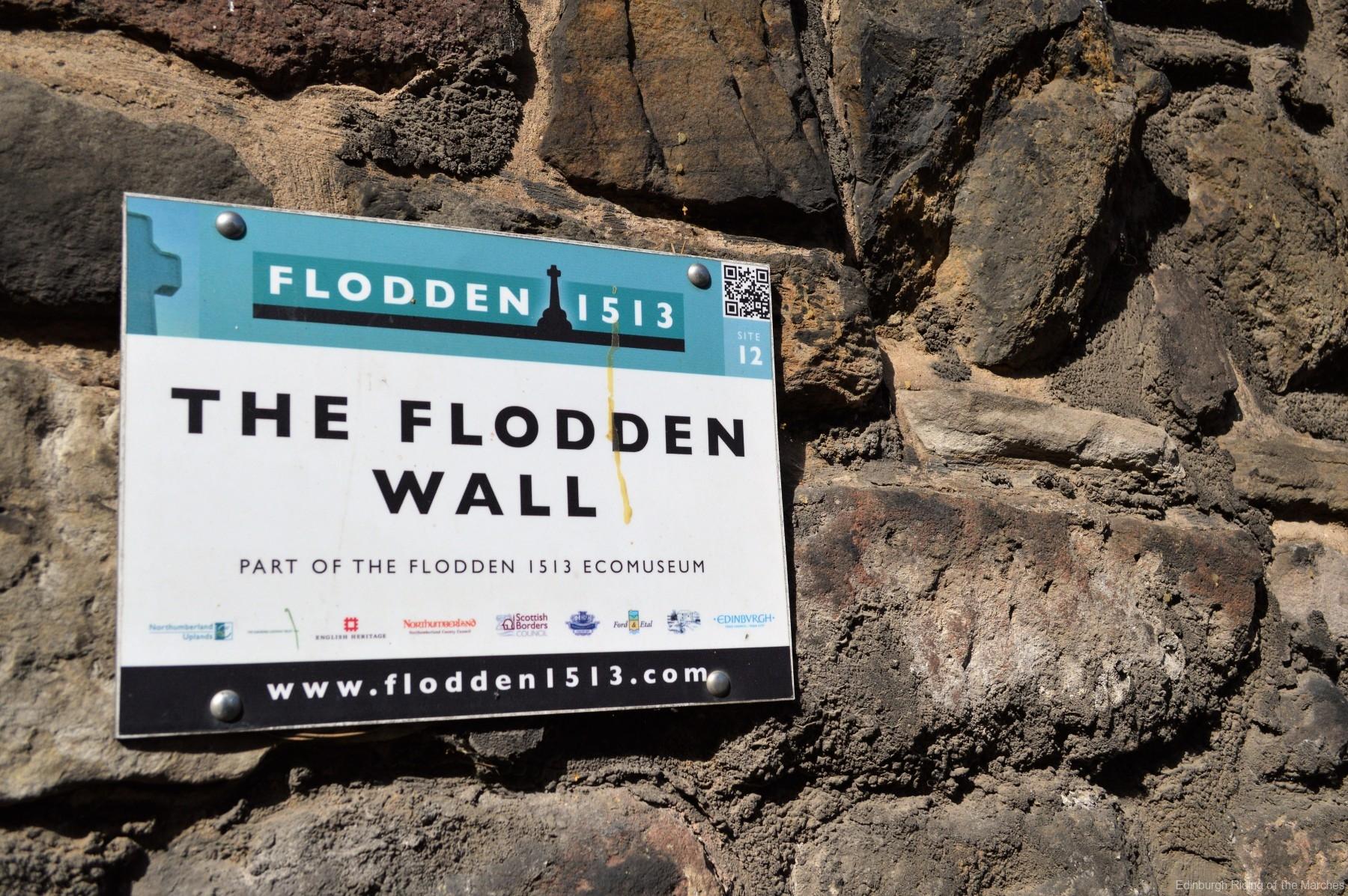 Flodden Wall plaque