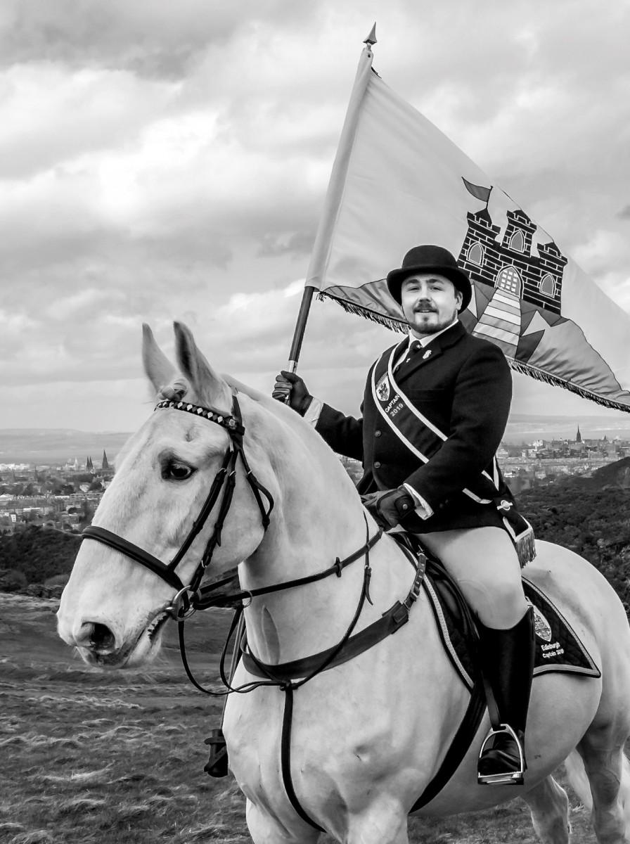 2019 Edinburgh Captain Connor Geddes