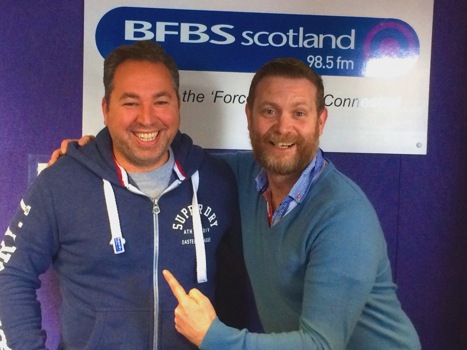 2017 Captain Elect interviewed at BFBS Sotland